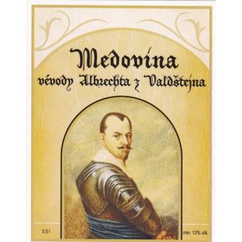 Medovina vévody Albrechta z Valdštejna 0,5l