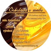 Čokoláda v medu 330g