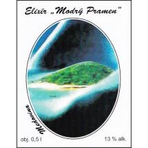 Elixír MODRÝ PRAMEN 0,5l
