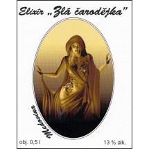 Elixír ZLÁ ČARODĚJKA 0,5l