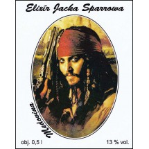 Elixír JACKA SPARROWA 0,5l