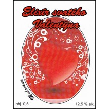 Elixír svatého Valentýna 0,5l