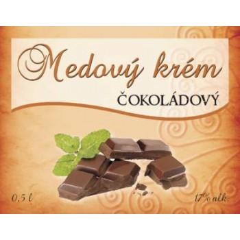 Medový krém ČOKOLÁDOVÝ 0,5l
