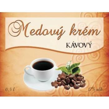 Medový krém KÁVOVÝ 0,5l