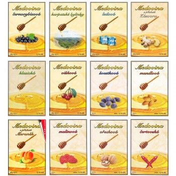 Medovina dle výběru 10l