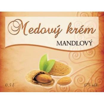 Medový krém MANDLOVÝ 0,5l