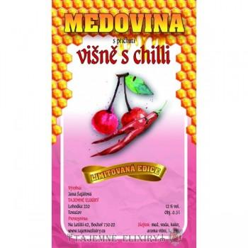 Medovina višně s chilli 0,5