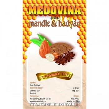Medovina Mandle s badyánem 0,5l