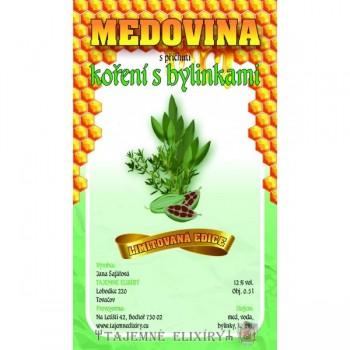 Medovina Koření s bylinkami 0,5l
