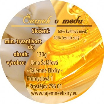 Česnek ve výběrovém medu 330g